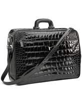 Brooks Brothers Glazed Alligator Travel Bag