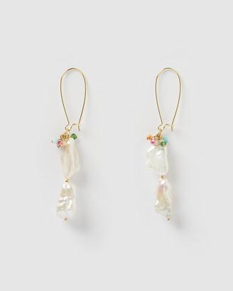 Miz Casa and Co - Women's Earrings - Siren Drop Earrings - Size One Size at The Iconic