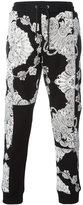 McQ by Alexander McQueen drawstring printed track pants - men - Cotton - XL