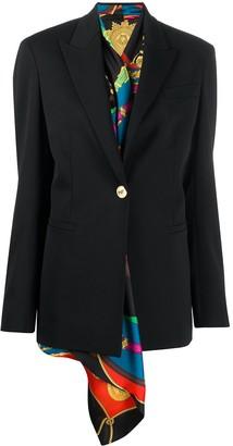 Versace Layered Blazer