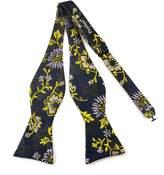 Pense'e Pensee Mens Self Bow Tie Silk Bow Ties