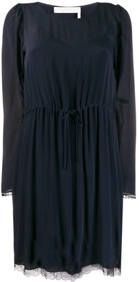 See by Chloe long-sleeve shift dress
