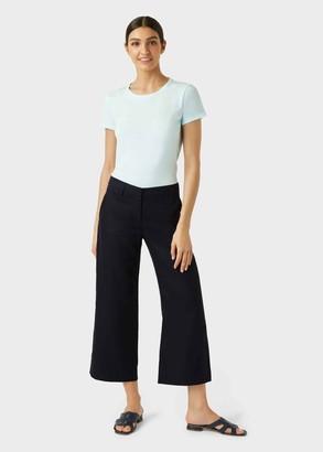 Hobbs Nicole Linen Wide Leg trousers