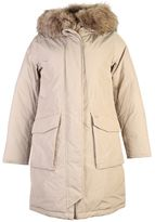 Woolrich Parka Coat With Fur