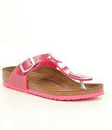 Birkenstock Girl's Gizeh Slip On Thong Style Buckle Detail Sandals