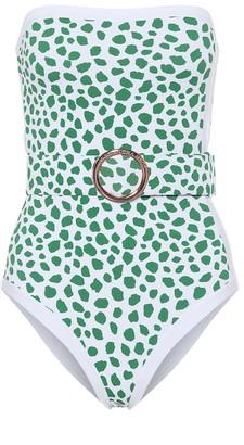 Alexandra Miro Exclusive to Mytheresa Whitney leopard-print swimsuit