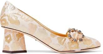 Dolce & Gabbana Embellished Brocade Pumps
