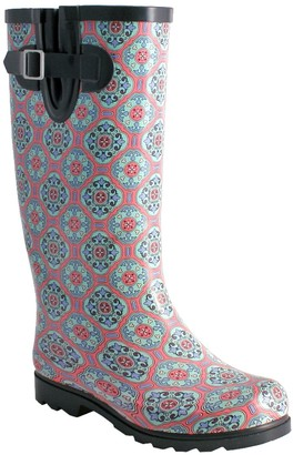 NOMAD Pull-On Rubber Rain Boots - Puddles