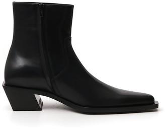 Balenciaga Pointy Toe Ankle Boots