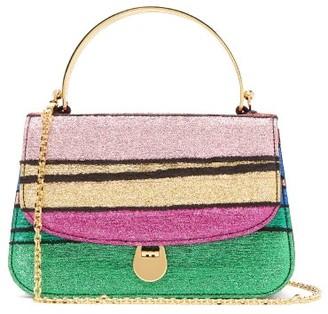 BIENEN-DAVIS Sabi Stripe-brocade Handbag - Multi