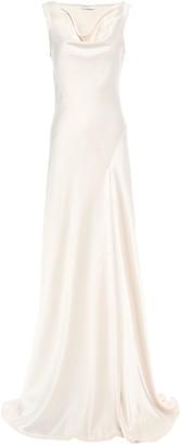 Amanda Wakeley Draped Satin Gown