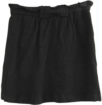 NW3 by Hobbs Hobbs Hobbs Grey Wool Skirt for Women