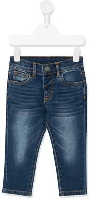 MonnaLisa Stonewashed Slim-Fit Jeans