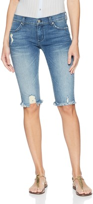 James Jeans Women's Beach Bums Boyfriend Bermuda Shorts in Venice 24