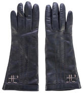 Alberta Ferretti Embellished Leather Gloves