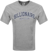 Billionaire Boys Club College T Shirt Grey
