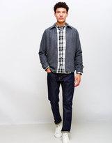 Edwin Industry Zip Shirt Grey Marl