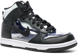 Comme des Garcons Nike PVC High-Top Sneakers