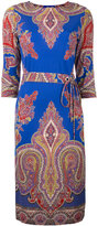Etro paisley print midi dress - women - Viscose - 40