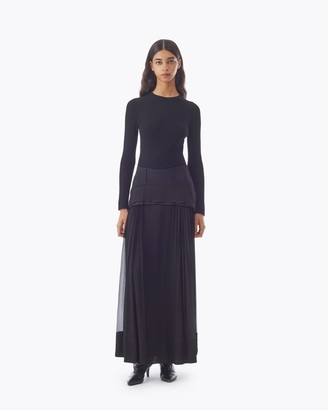 3.1 Phillip Lim Peplum Silk Skirt