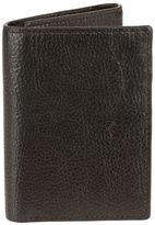 Bill Adler Men's RFID-Blocking Leather Trifold Wallet
