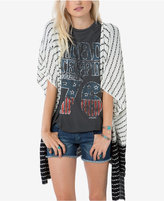 O'Neill Juniors' Daze Striped Draped Cardigan
