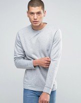 Jack and Jones Ribbed Textured Crew Neck Sweat