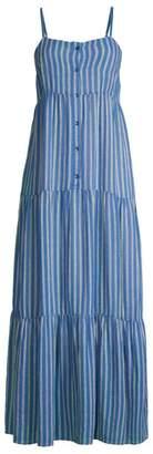 Splendid Promenade Striped Maxi Dress
