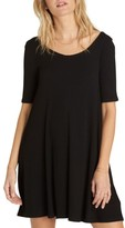 Billabong Women's Nothing To Hide Ribbed T-Shirt Dress