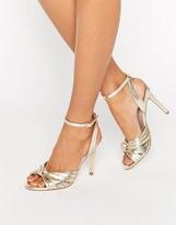 Faith Dancing Knot Detail Sandals