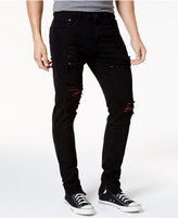 Young & Reckless Men's Harrington Ripped Tapered Jeans
