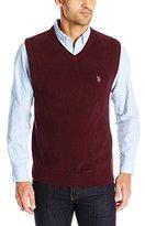 U.S. Polo Assn. Men's Tonal Argyle Sweater Vest