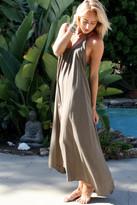 Tysa Wanderlust Dress In Olive