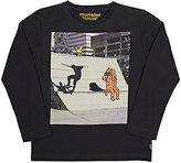 Munster Skateboarder Jersey Long-Sleeve T-Shirt-BLACK