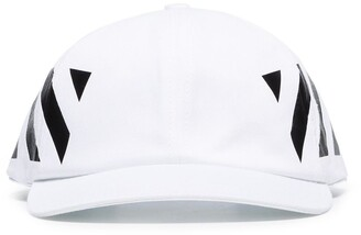 Off-White Diagonal Stripe print baseball cap