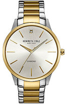 Kenneth Cole Two-Tone Analog Bracelet Watch