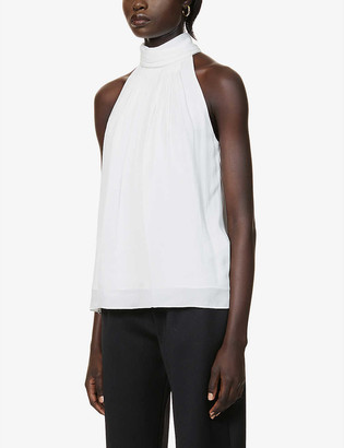 Reiss Daniella high-neck sleeveless top