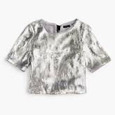 J.Crew Pre-order Sequin party top with grosgrain ties