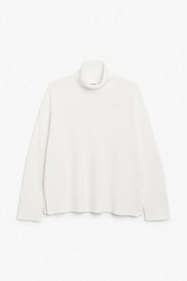 Monki Knitted turtleneck sweater