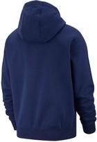Nike Sportswear Plus Size Club Fleece Full Zip Hoodie - Navy