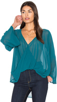Bishop + Young Bell Sleeve Crossover Top