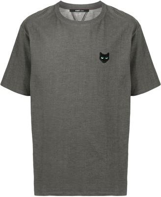ZZERO BY SONGZIO logo-patch short-sleeve T-shirt
