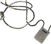 M. Cohen Antique Plate Bead Necklace