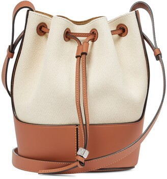 Loewe Balloon Small canvas shoulder bag