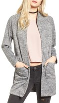 Cotton Emporium Women's Long Bomber Cardigan