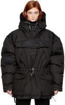 Napa x Martine Rose Black Skidoo Common Pullover Anorak