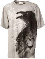 Faith Connexion raven print T-shirt - men - Cotton - S
