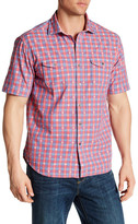 Tommy Bahama Short Sleeve Jean Luce Jacquard Regular Fit Shirt
