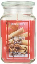 Holiday Memories Cinnamon Stick 17-oz. Candle Jar