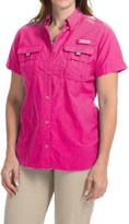 Columbia PFG Bahama Shirt - UPF 30, Short Sleeve (For Women)